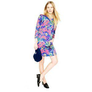 J. Crew Jules Shift Dress in Ashbury Floral